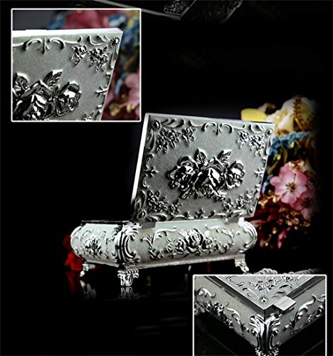 Nice Wedding Gift Ideas: Cimostar Luxury European Retro Jewelry Box, Jewelry