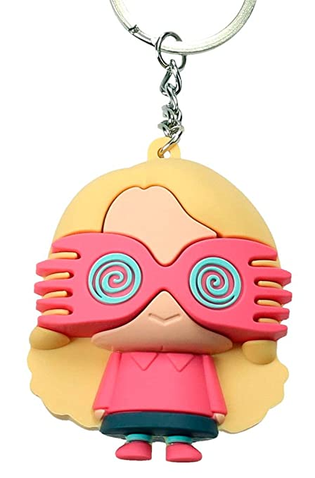Amazon.com: SD toys - Porte Cle Harry - Luna Lovegood Gomme ...