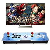 Real Pandora's Box 5S 2 Players Joystick Arcade Console with 1299 Retro Games Double Arcade Joystick Built-in Speaker Double Arcade Joystick Built-in Speaker