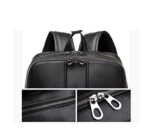 Multi Backpack Shoulder Laidaye purpose Men's Leisure Bag Travel Business Black x6BPaqX
