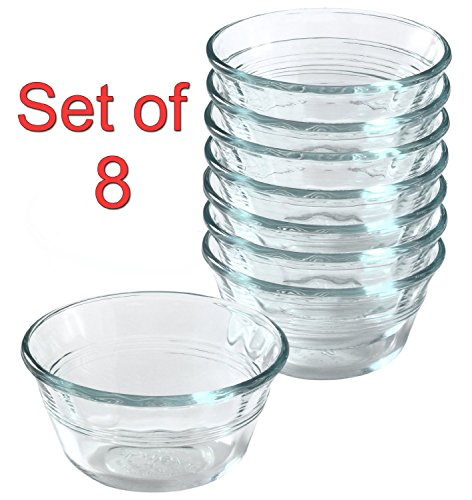 glass baking cups - 1