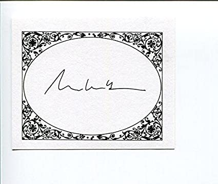 Russell Banks Author Signed Bookplate