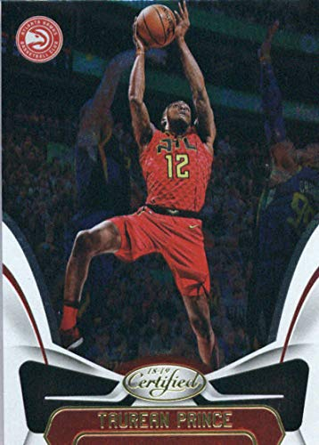 2018-19 Panini Certified #39 Taurean Prince Atlanta Hawks Basketball Card