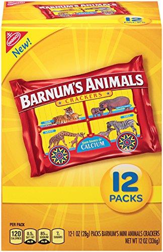 Barnum's Mini Animal Crackers Snack Packs, 12 Count ()