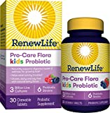 Renew Life Pro-Care Flora Kids Probiotic, 3 Billion CFU, 30 chewable Tablets