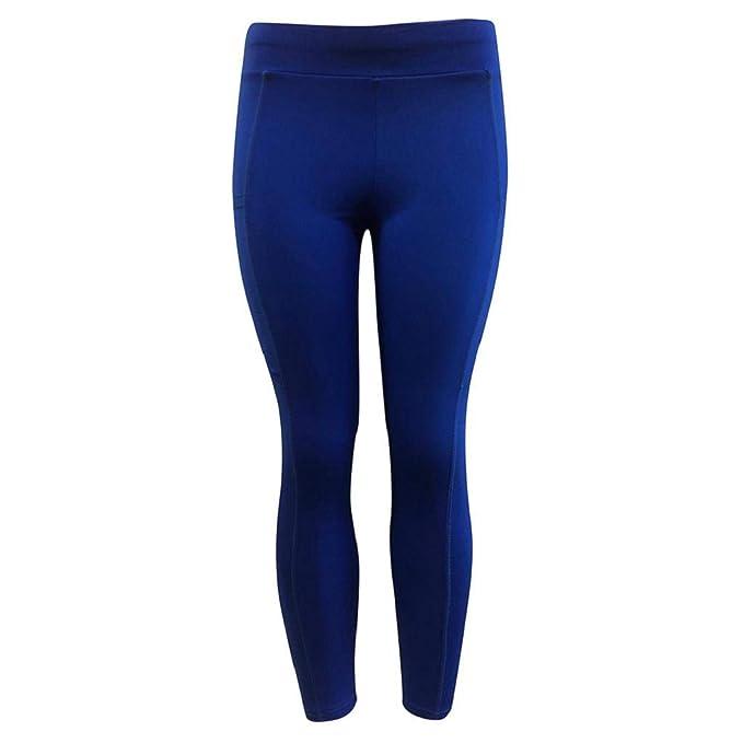 QUICKLYLY Yoga Mallas Leggins Pantalones Mujer,Sólido Entrenamiento De Las Mujeres, Leggings, Gimnasio