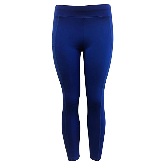 QUICKLYLY Yoga Mallas Leggins Pantalones Mujer,Sólido ...