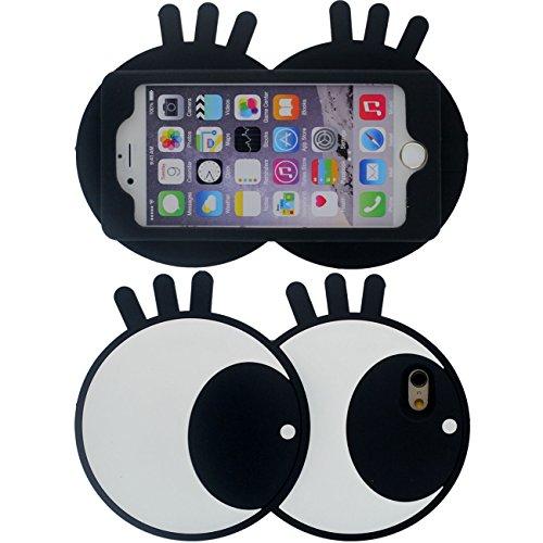 3D Créatif Mignon Cartoon Style Gros Forme Souple Silicone Housse Etui de Protection Case pour Apple iPhone 6 Plus / 6S Plus 5.5 inch