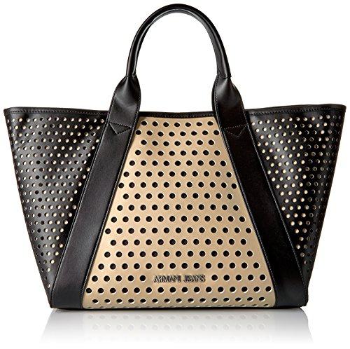 Armani Black Leather Bag - 3
