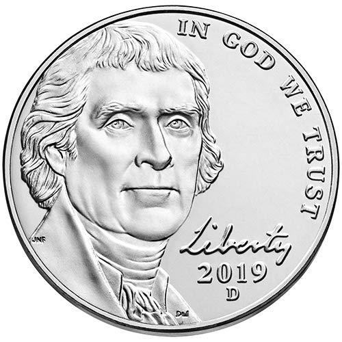 2003 P /& D BU Jefferson Nickel Choice Uncirculated US Mint 2 Coin Set