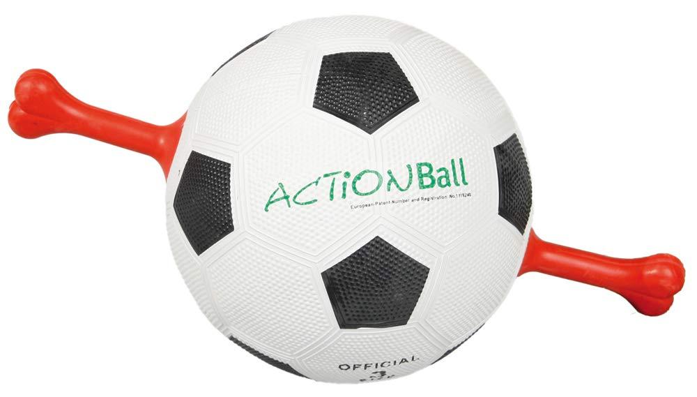 Karlie - 45890 - Ballon avec poignées en caoutchouc - 19 cm 43023