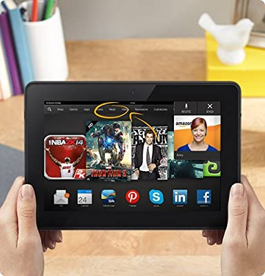 """Kindle Fire HDX 8.9"""", HDX Display, Wi-Fi, 64 GB - Includes Special Offers (Previous Generation - 3rd)"""