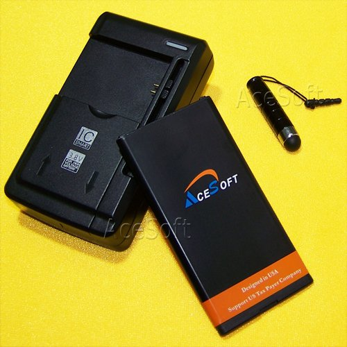New High Power 2700mAh Extended Slim Battery Universal Trave