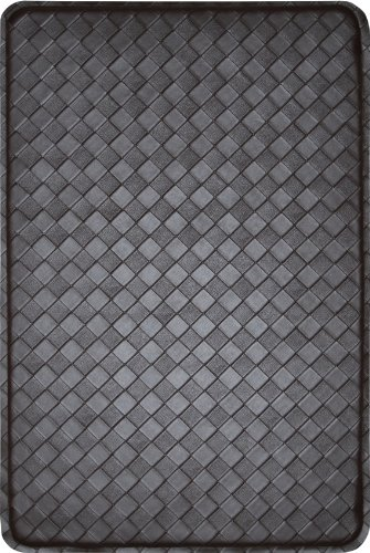 PowerSeller Modern-Indoor-Cushion-Kitchen-Rug-Anti-Fatigue-Floor-Mat-Actual Color Espresso from PowerSeller