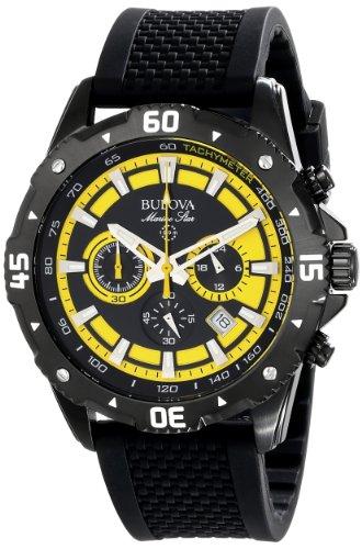 Bulova Men's 98B176 Marine Star Stainless Steel Watch - New Mens Marine Star