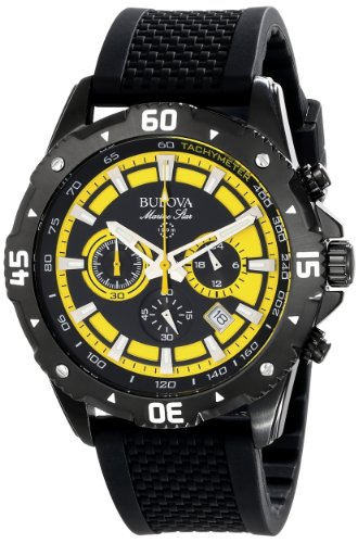 (Bulova Men's 98B176 Marine Star Stainless Steel Watch)