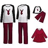 Clearance! Holiday Family Matching Fleece Deer Plaid Pajama PJ Sets The Family Adult Boys Girls