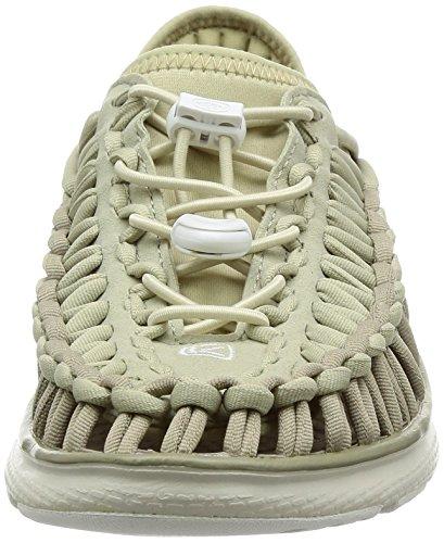 KEEN Damen Uneek o2-w Sandale Vintage Khaki / Knochenweiß