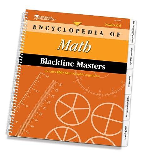 Amazon.com : Learning Resources Encyclopedia of Math Blackline ...