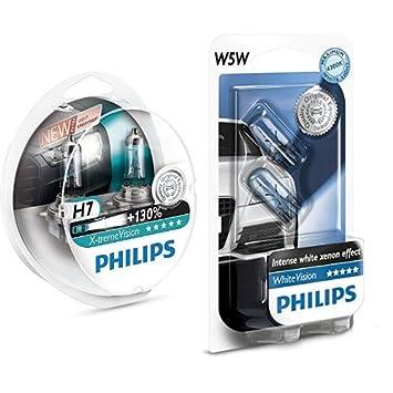 Philips 12972XV+S2 - Bombillas para coches (55W, H7, Halógeno) +
