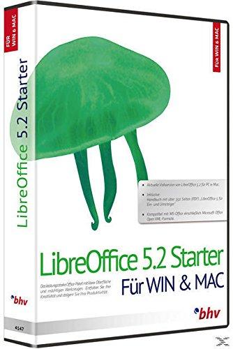 Libre Office 5.2. Für Windows 10, 8.1/8/7/Vista/XP (SP2) und Mac OS X 10.8 (Mountain Lion) oder höher - 10 Os Mountain 8 Lion Mac X