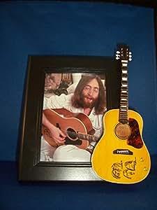 THE BEATLES símbolo de la Paz guitarra JOHN LENNON marco de fotos