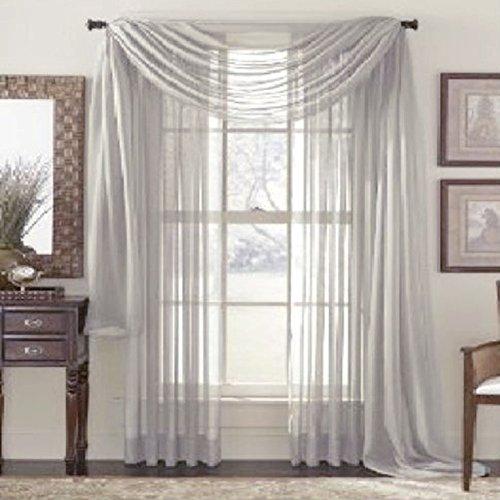 Edal Multi Color Window Valances Curtain