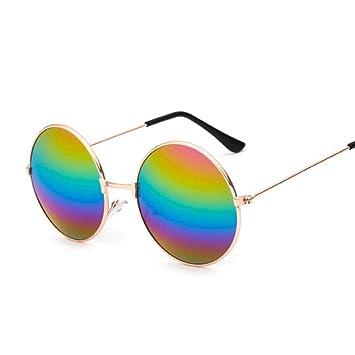 Gafas De Sol,Retro Gafas Redondas Pequeñas Hombres Mujeres ...