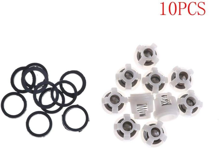 SAOJI Hot! 10Pcs Ar Kit de reparaci/ón de v/álvula de retenci/ón para Bomba de Agua Hidrolimpiadora