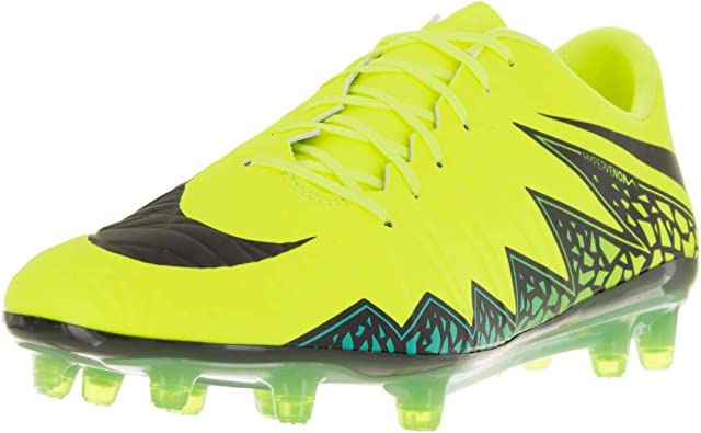 Recomendado Dios Arreglo  Amazon.com: Nike Women's Hypervenom Phatal II FG Soccer Cleat (6.5, Blue  Lagoon/White-Volt-Black): Sports & Outdoors