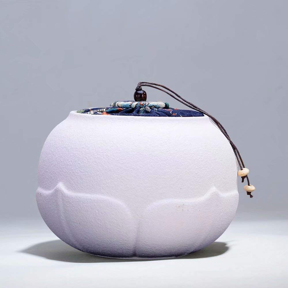 Cremation Urns Ceramic Tea Box Purple Sand Tea Iron Box Tea Box Tea Cans