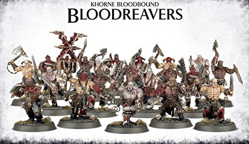 Games Workshop Warhammer 40K Age of Sigmar Khorne Bloodboun Bloodreavers