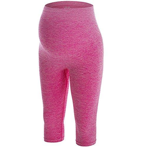 LWJ 1982 Maternity Activewear Workout Capri Leggings Stretch Yoga Pants