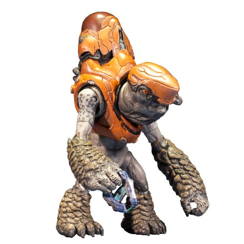 McFarlane Toys Halo 4 Series 1 - Storm Grunt with Plasma Pistol Action Figure (4 Halo Toys)