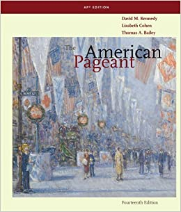 The American Pageant: A History of the American People, AP
