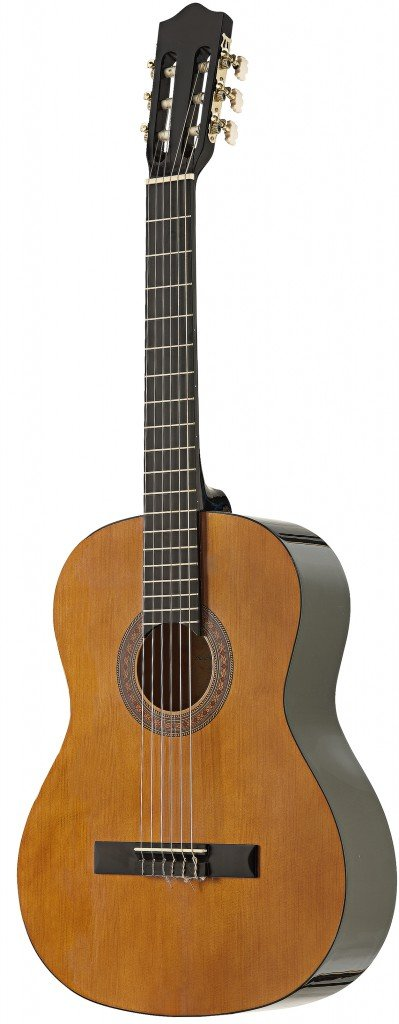 B000UQVNY6 Stagg C546LH 4/4-Size Nylon String Left-Handed Classical Guitar - Natural 51aLFXmaglL