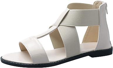 Women's Vintage Sandals Ladies Elastic