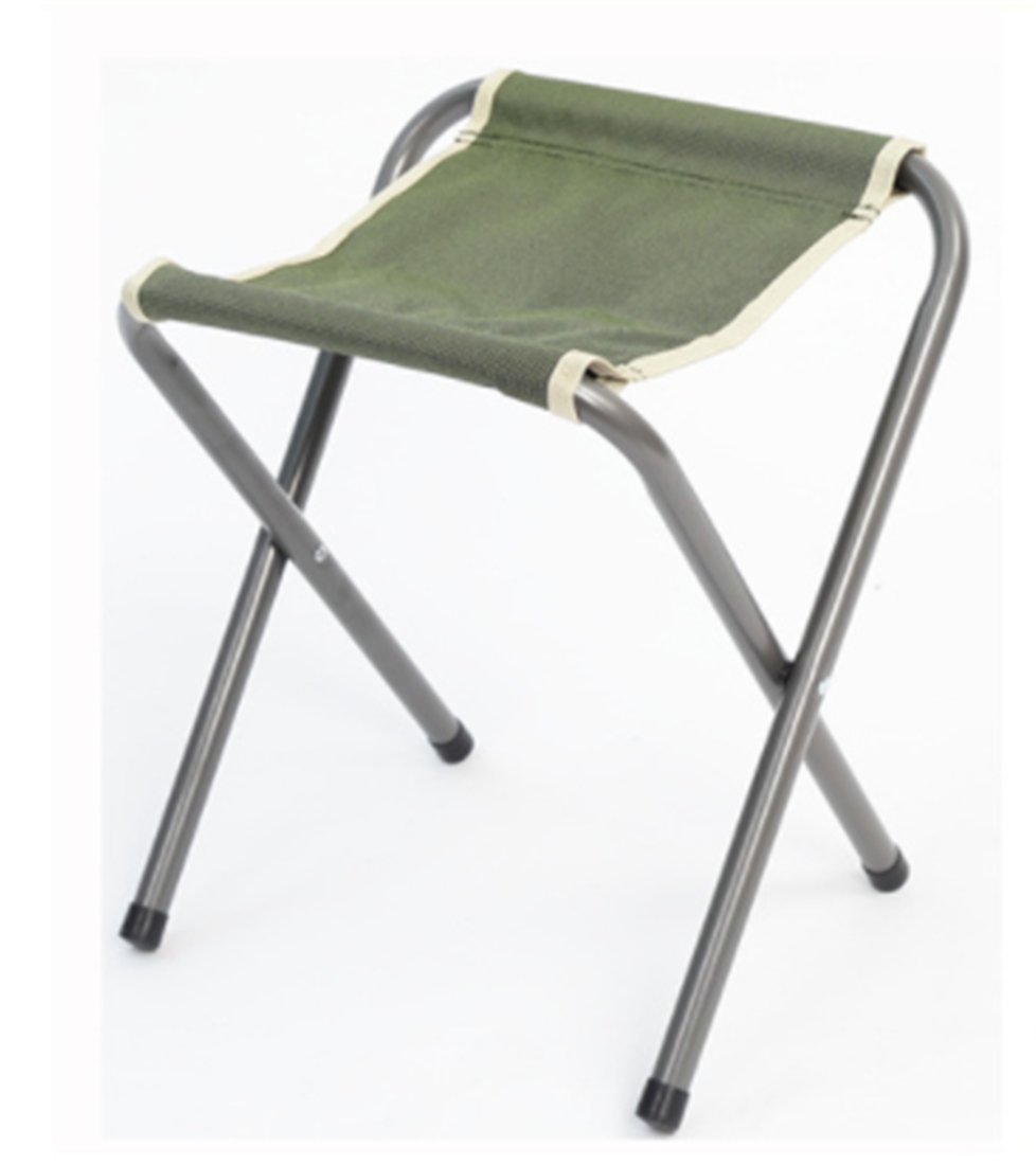 Yeying123 Klappstuhl Gepolsterten Satz Von 2 Outdoor-Angeln Stuhl Tragbare Camping Klapp Pony Bar