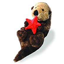 "Otto Sea Otter with Starfish 8"" Mini Flopsie Stuffed Animal"