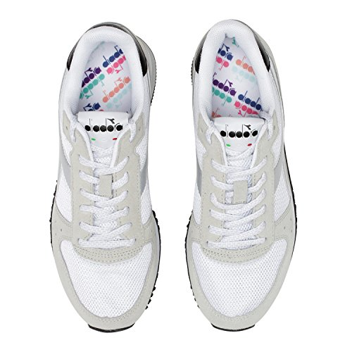 nero C0351 Donna Diadora Malone W Bianco Sneaker 7AgcAwTBYU