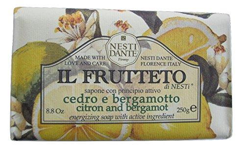 Nesti Dante Nesti dante il frutteto energizing soap - citron and bergamot, 8.8oz, 8.8 Ounce