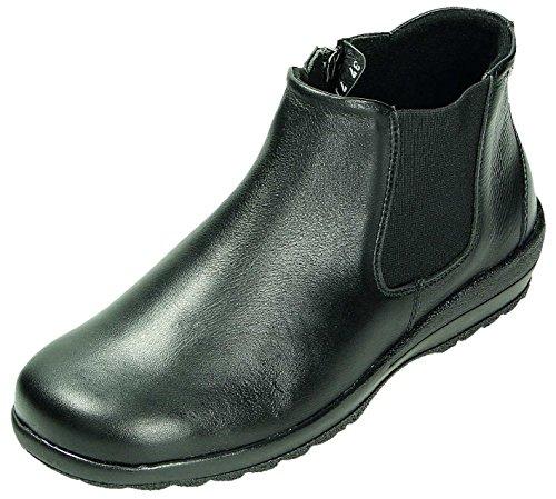 DocComfort Stiefel D.RV-Stiefel 7J30-1J nero Anilin Cow