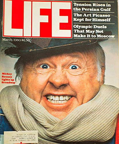 Monthly Magazine Mag - LIFE Magazine - Monthly issue: March, 1980 - Mickey Rooney