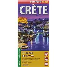 CRETE  1/150.000 (COMFORT !MAP, LAMINEE)