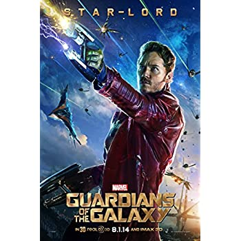 Amazon.com: Guardians of the Galaxy - Star Lord Poster 24 x 36in: Posters & Prints