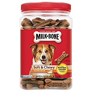 Milk-Bone Soft & Chewy Dog Treats with 12 Vitamins and Minerals 21