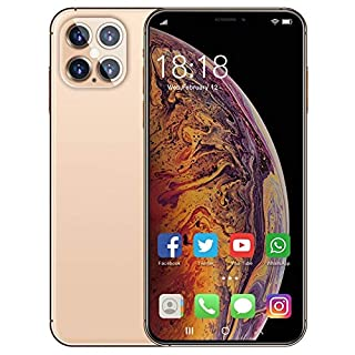 BHGFU Unlocked Cell Phones i12Pro MAX 5000mah Battery 5G Android 10.0 Unlocked Smartphones 6.7 Inch HD 12GB Ram + 512GB ROM | Fingerprint Id and Facial Recognition | Mobile Gaming Smartphone |