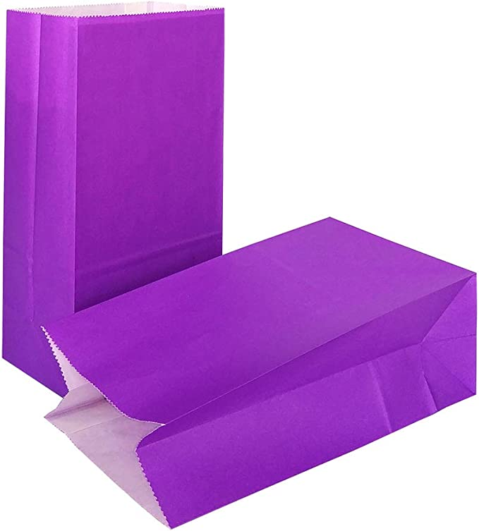 KEYYOOMY Small Bright Color Paper Bags Megenta Party Goody Bags for Wedding Baby Shower Kid/'s Birthday Party Megenta, 50 CT, 3.5 X 2.4 X 7.1 in