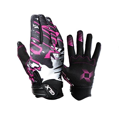 GLX DOT Youth Motocross Dirt Bike Helmet Pink+Goggles+Gloves