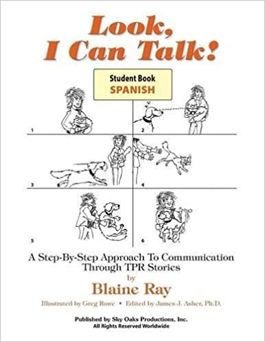 Look, I Can Talk! Student Workbook in Spanish (Spanish and English Edition) by Ray, Blaine (1995)